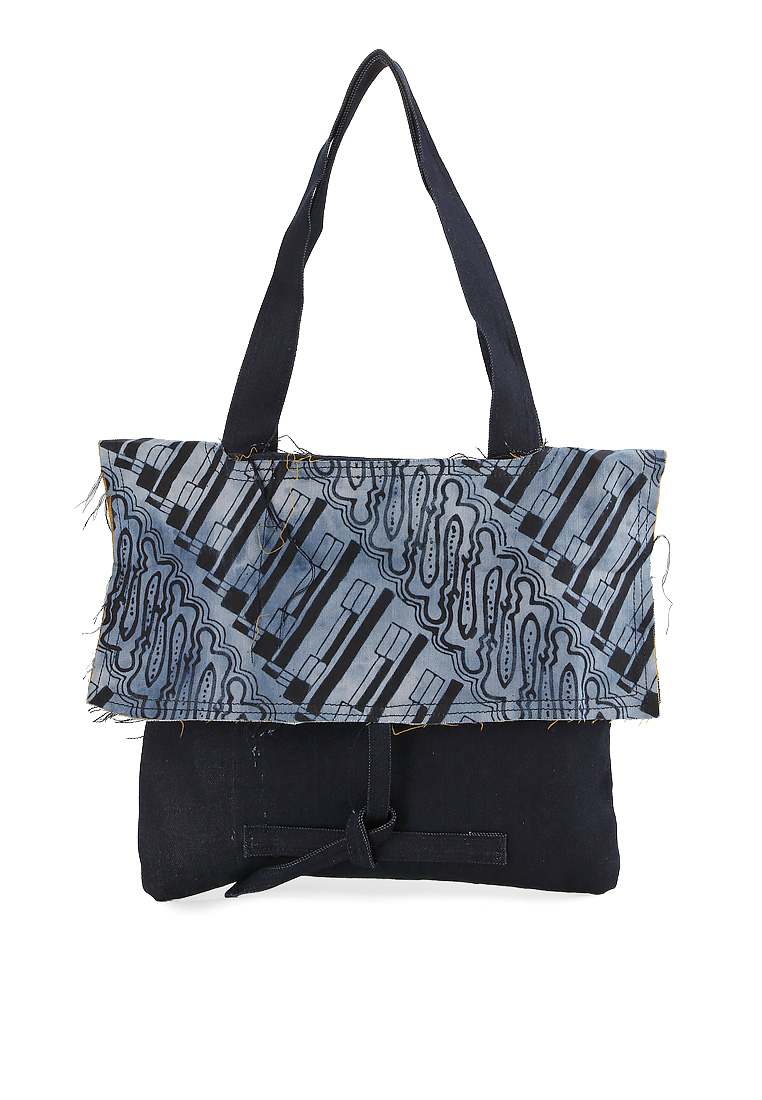 Mashita Tote Bag [Dark Blue]